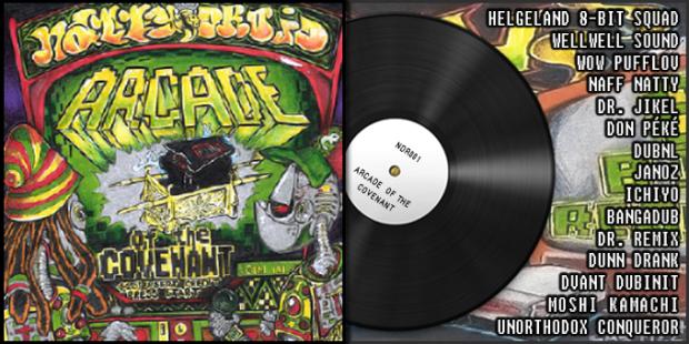 ARCADE OF THE COVENANT - Natty Droid 8-BIT Reggae Netlabel Release